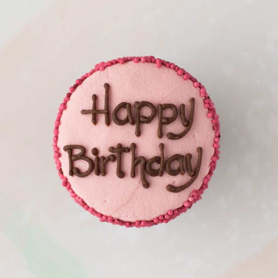 Happy Birthday Specialty Cupcake