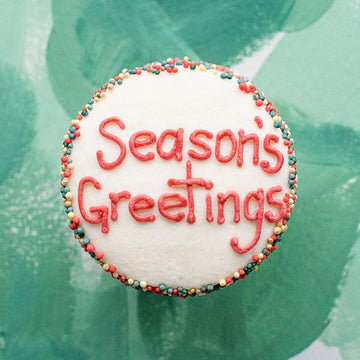 Crave Cupcakes - Seasons Greetings Cupcake
