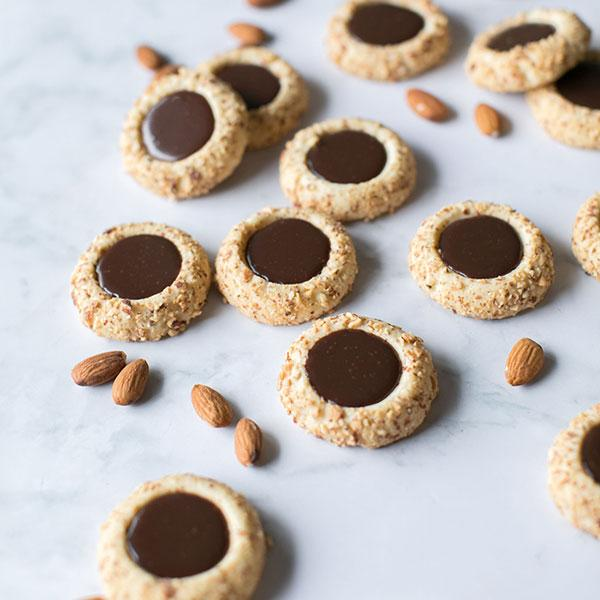 Crave Cupcakes - Chocolate Almond Thumbprints