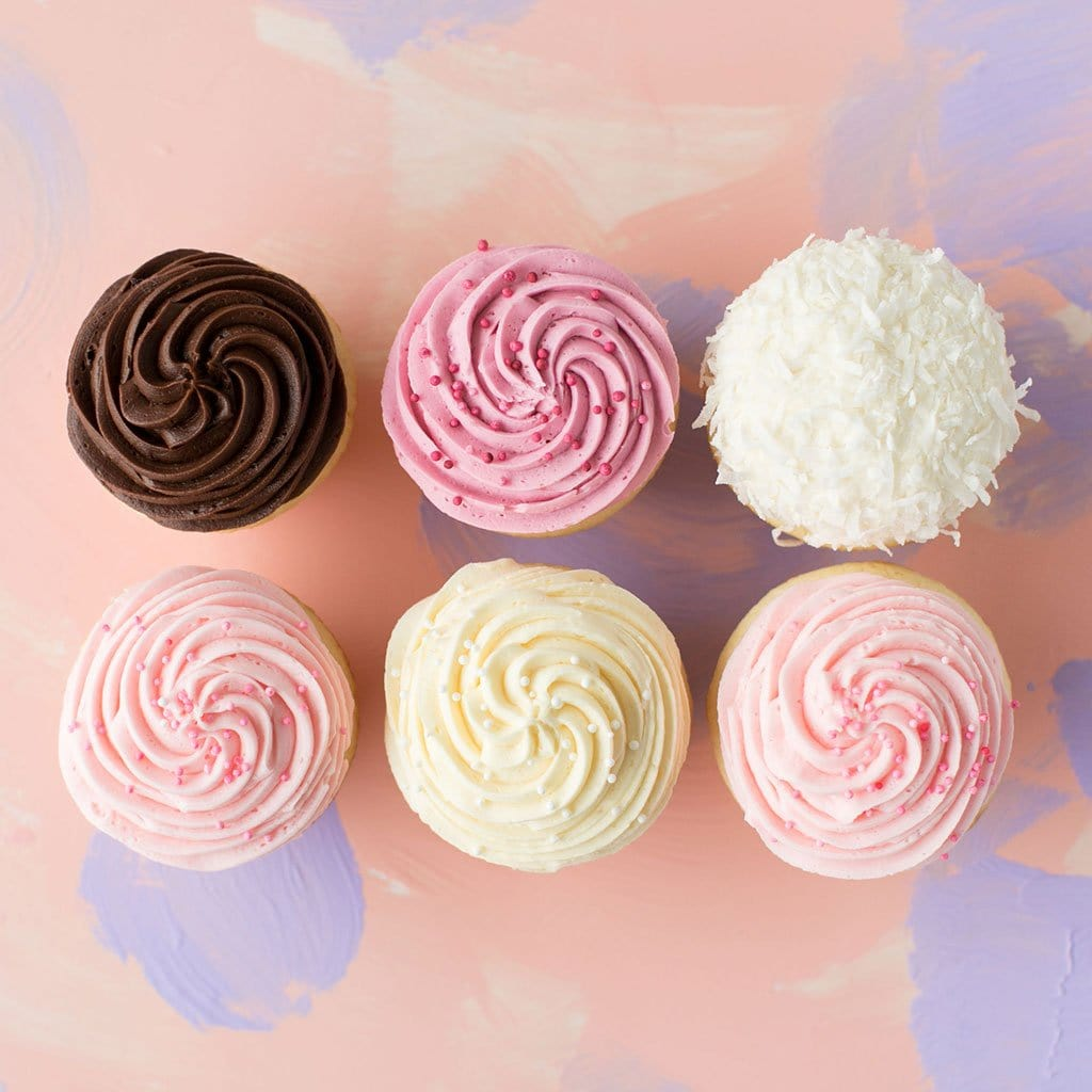 Crave Cupcakes - Vanilla only original Pack