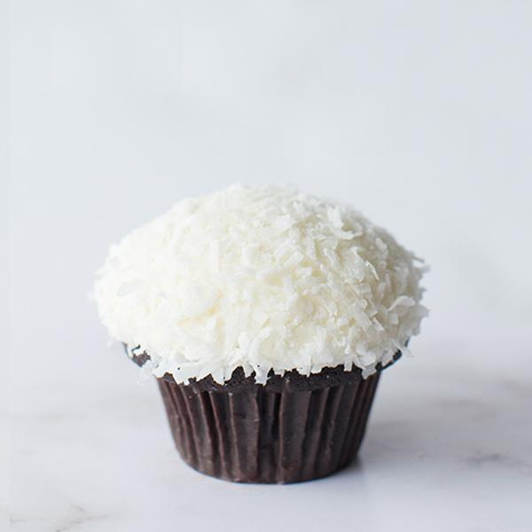 Crave Cupcakes - Chocolate Coconut Cupcake