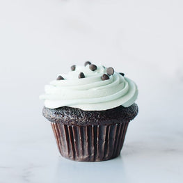 Crave Mint Chip Cupcake