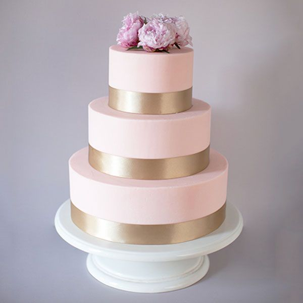 Crave Cupcakes Classic Ribbon Tier Cake