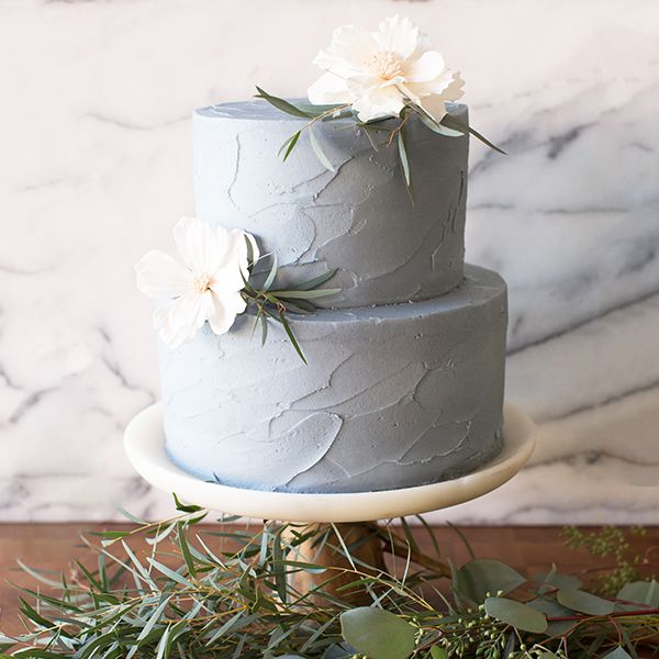 Crave Cupcakes Stucco Tier Cake