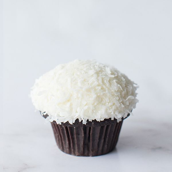 Crave Coconut Chocolate Cupcake
