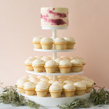 Crave Cupcakes Cake Topper and Cupcakes