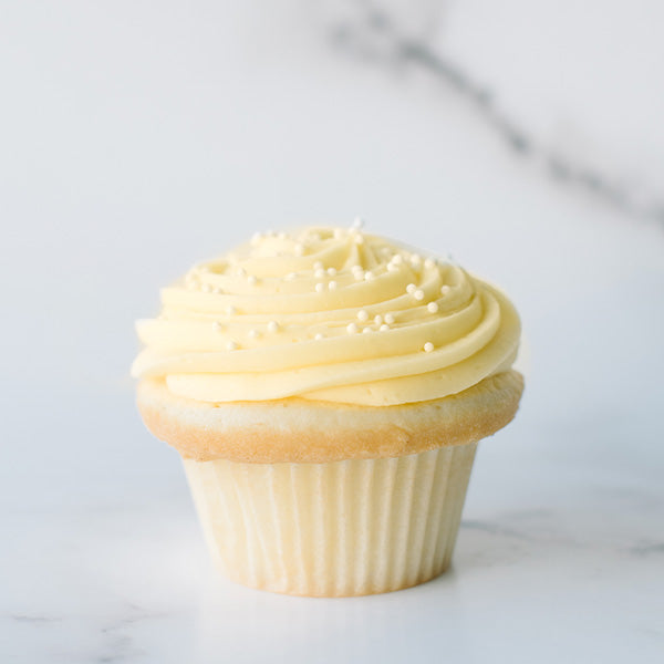Crave Lemon Drop Cupcake
