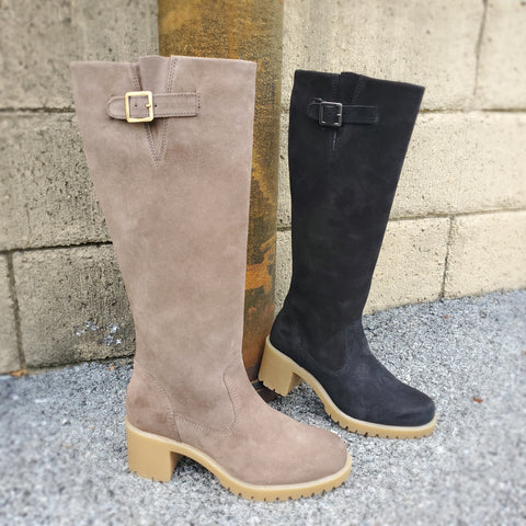 Eric Michael tall suede boots