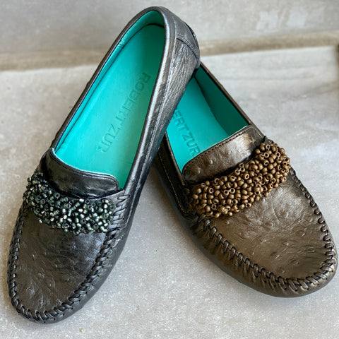 Robert Zur leather loafers