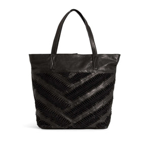 Day & Mood- Ebony Tote, ACCESSORIES, DAY & MOOD, Plum Bottom