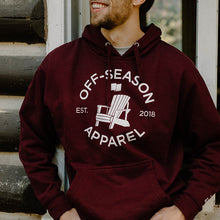 Load image into Gallery viewer, Off-Season Classic Hoodie - Maroon