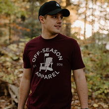 Load image into Gallery viewer, Off-Season Classic Tee - Maroon