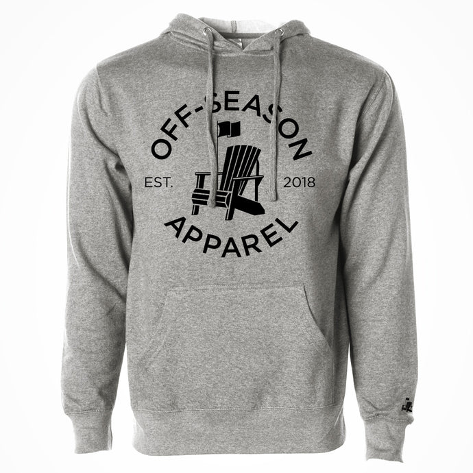 Off-Season Classic Hoodie - Salt & Pepper