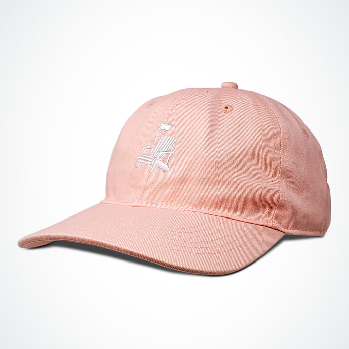 Off-Season Dad Hat - Pink, Tan, Black