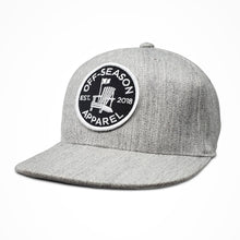 Load image into Gallery viewer, Off-Season Snapback - Heather Grey