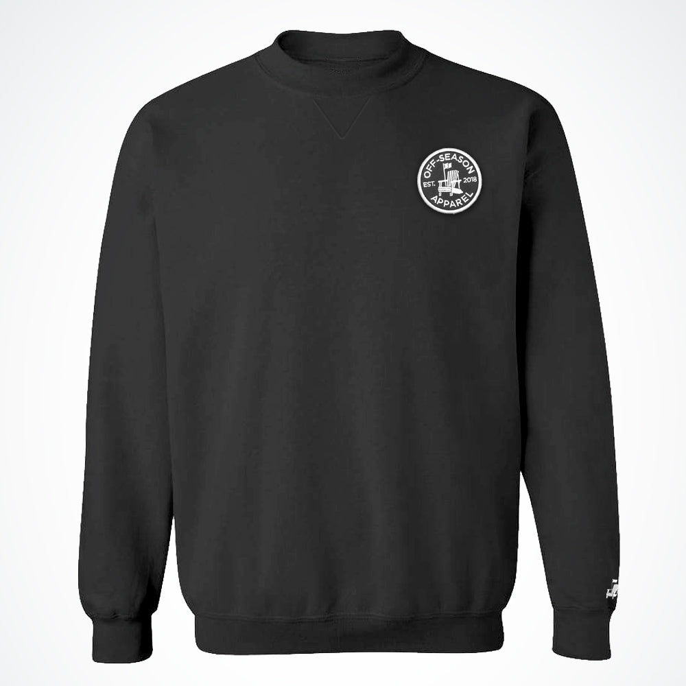 Off-Season Patch Crewneck - Black