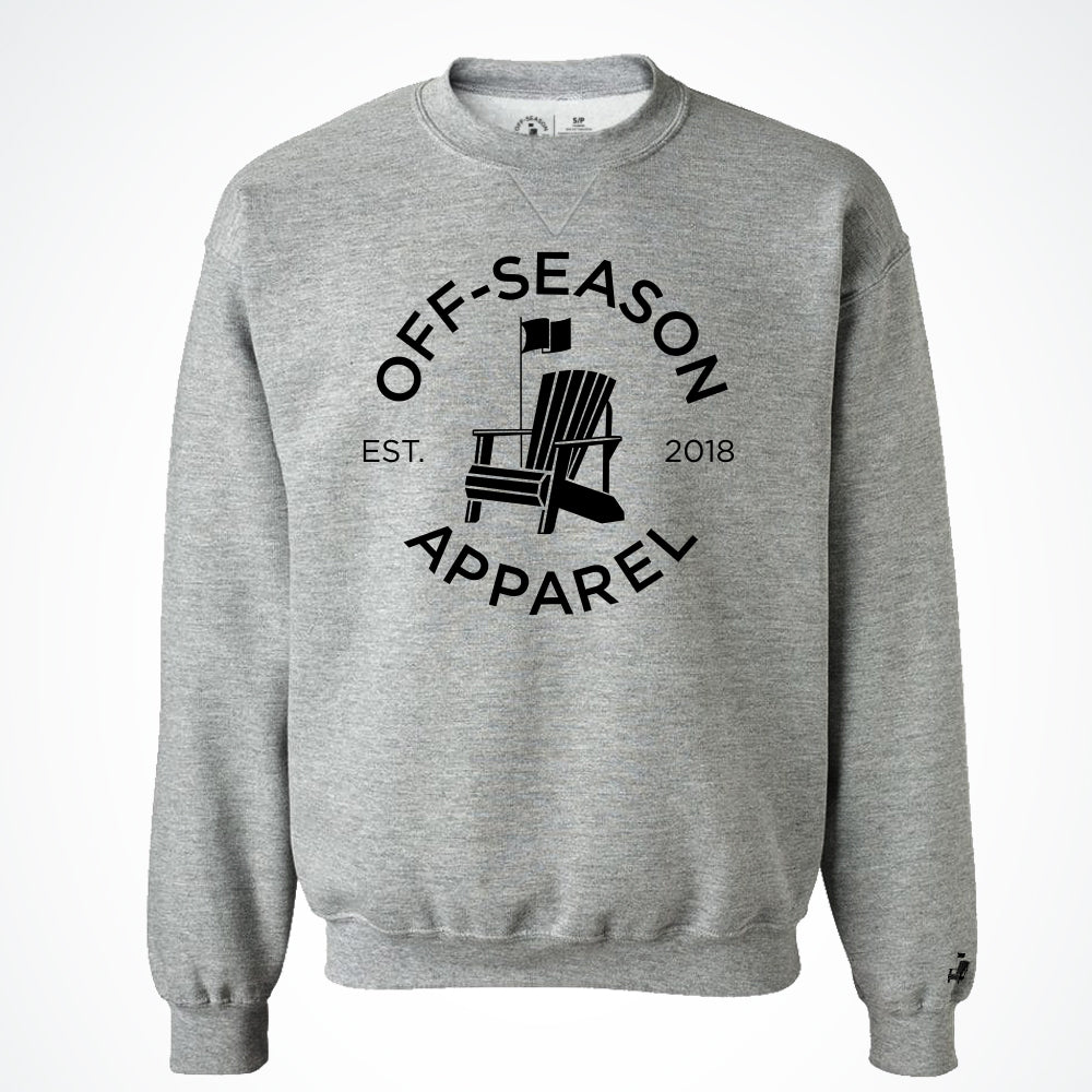 Off-Season Classic Crewneck - Salt & Pepper