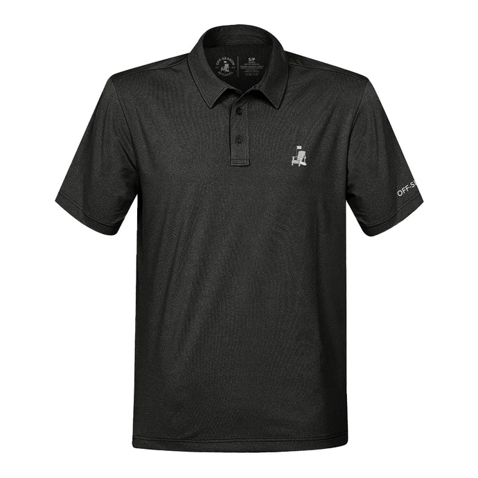Off-Season Golf Polo - Charcoal