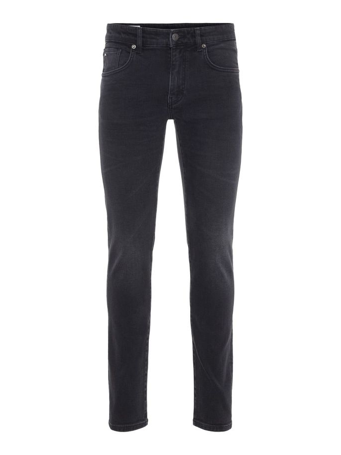 Menswear black jeans premium quality slim fit stretch summer 2019
