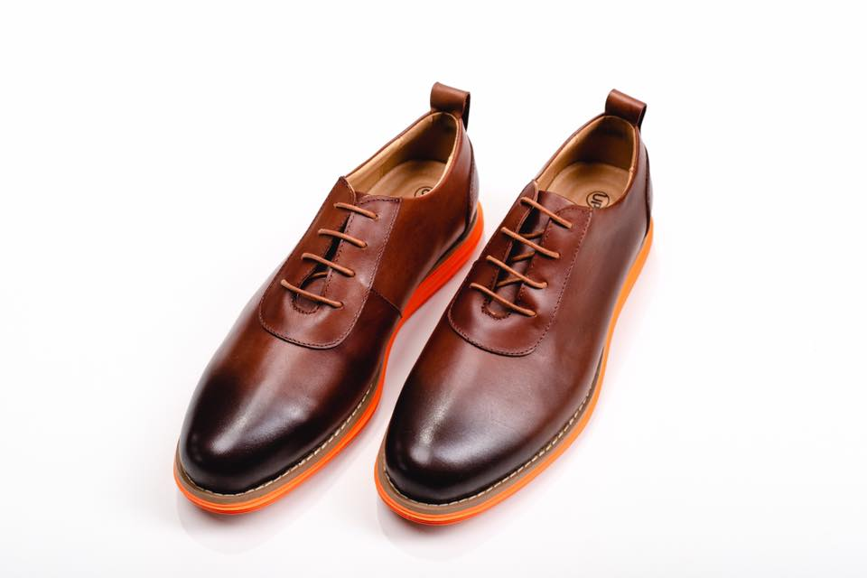 Premium Quality Leather Brown Shoe Different Estonian Design