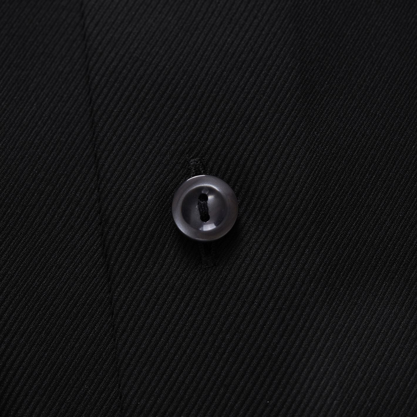 ETON brand premium quality men's formal shirt in black textured twill