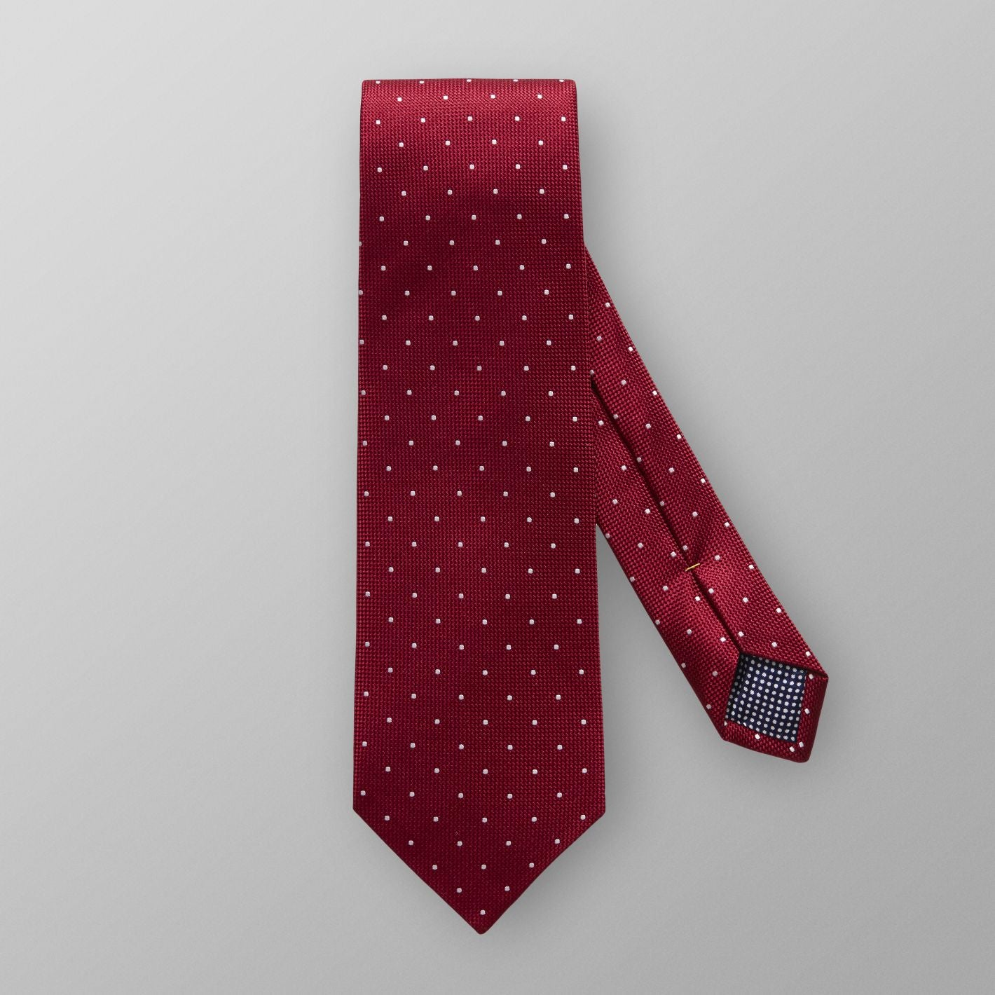 100% silk premium quality made in England men's dot tie Red