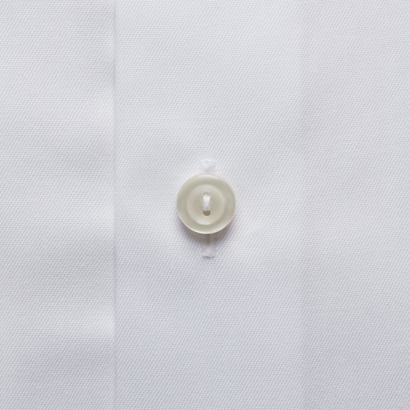 Premium quality formal men's shirt signature twill in white color