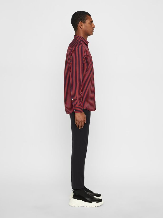 J. Lindeberg Daniel Pop Stripe Shirt
