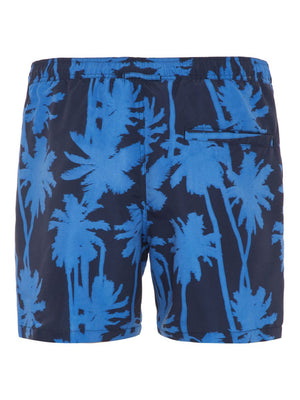 Men's premium quality summer 2019 swim shirts for beach in blue color