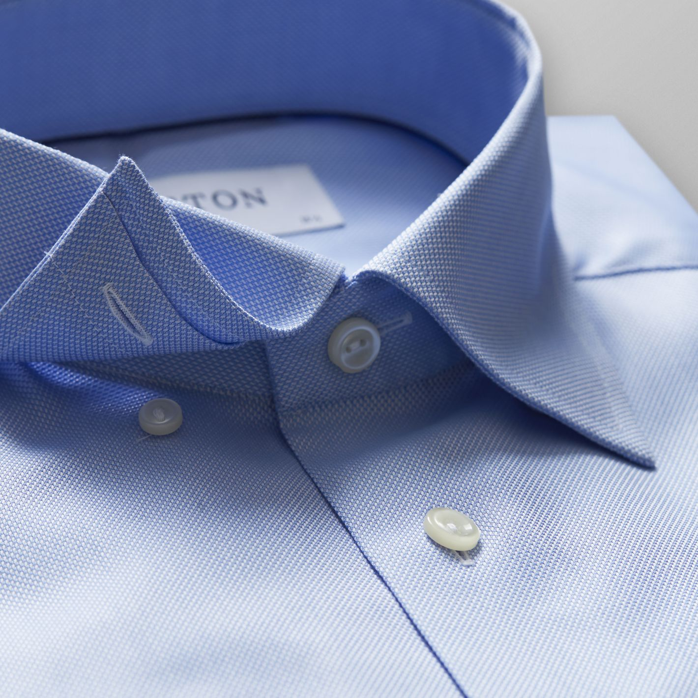 Premium quality formal business men's shirt in sky blue