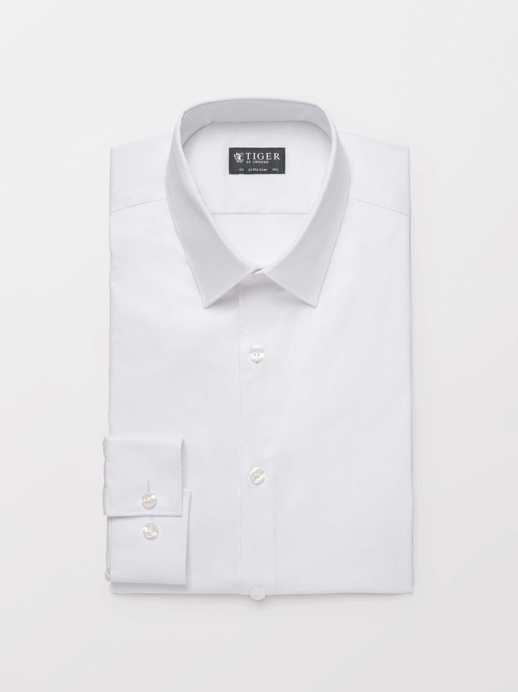 White shirt for men classical summer 2019