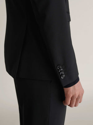 Premium quality black suit trousers for men summer collection 2019
