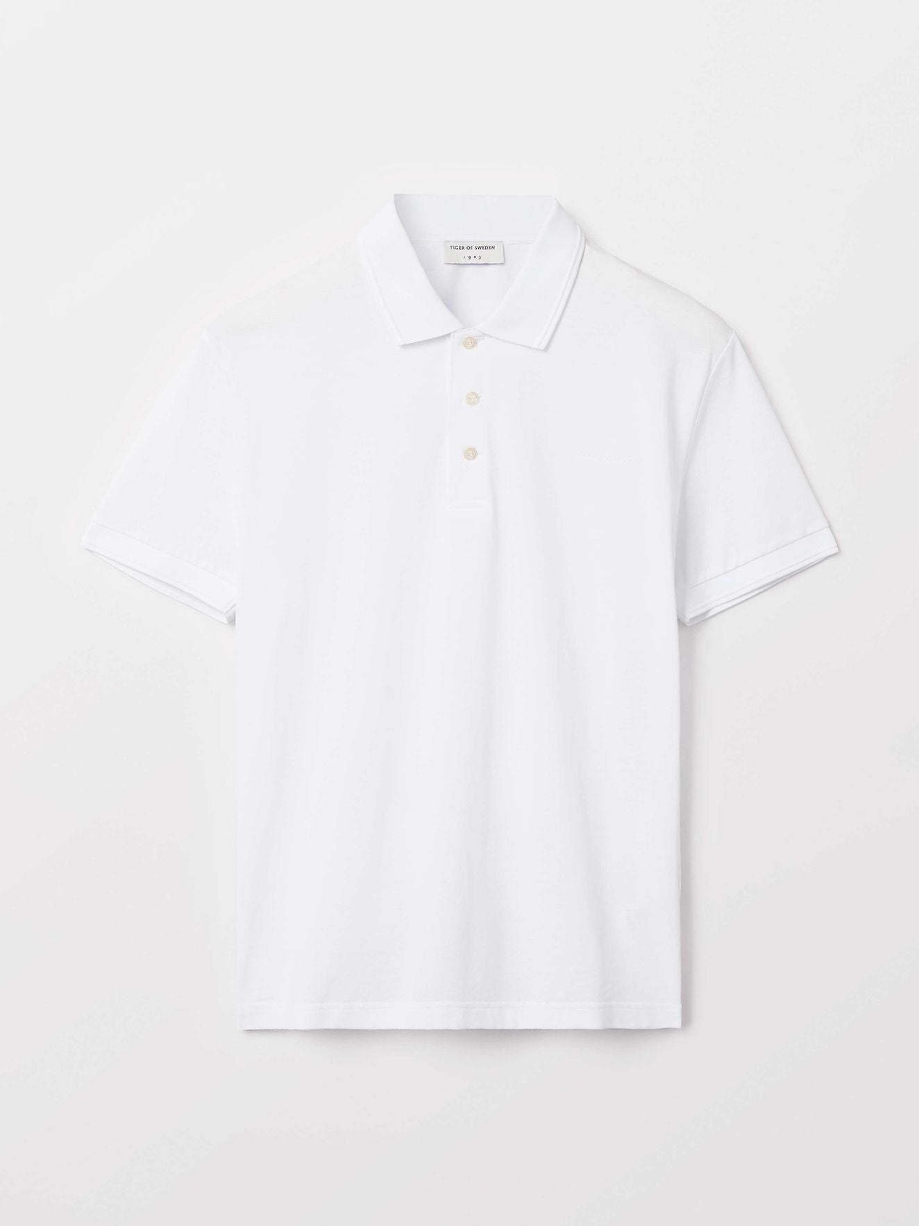 Menswear Cotton Polo Shirt White Color Premium Quality Summer 2019