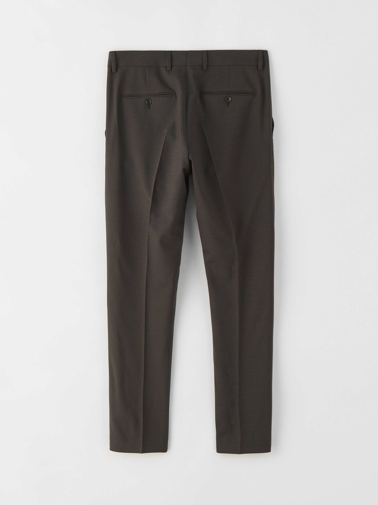 Tiger of Sweden Wool Trousers in Charcoal color