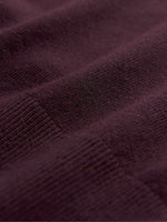 Men's classic merino wool pullover fabric