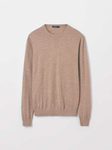 Merino wool pullover for men