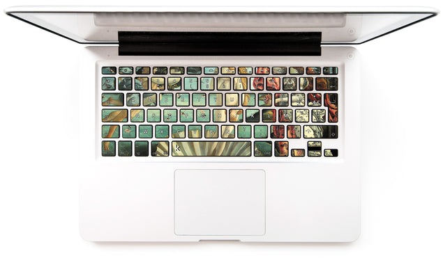 La Naissance de Vénus (Botticelli) Stickers Autocollants Clavier MacBook