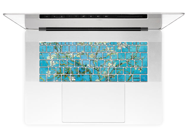 Fleur D'Amande par van Gogh Stickers Autocollants Clavier MacBook alternative