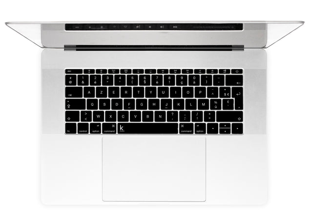 Noir Stickers Autocollants Clavier MacBook alternative
