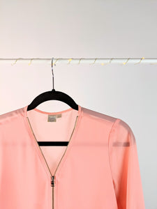 Blouse rose « bossy »