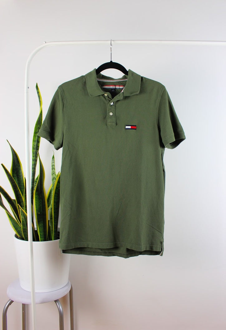 Polo vert Tommy Hilfiger