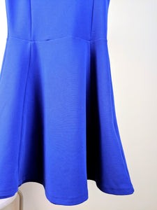 Robe bleue royale « full mign »