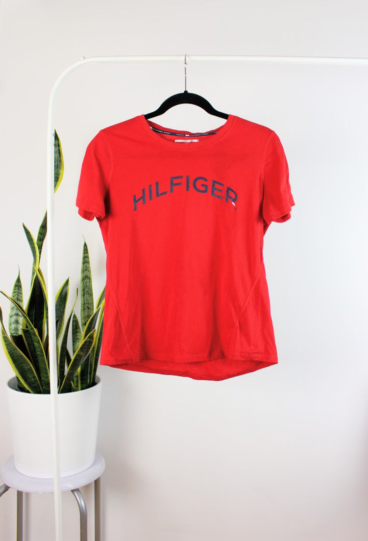 T-shirt rouge Tommy Hilfiger