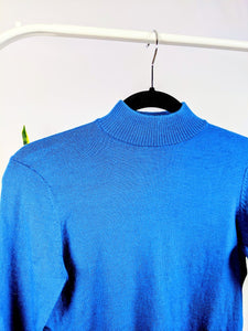Turtleneck turquoise confortable