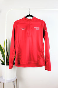 Veste de sport rouge flash