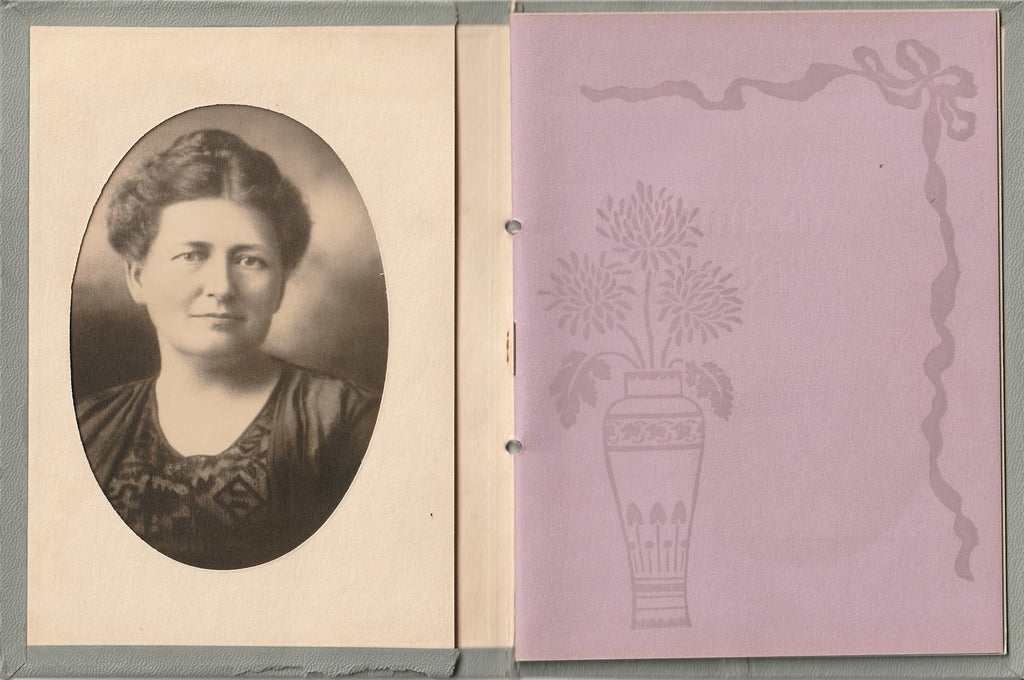 In Memory of Mary Snideler Memorial Record Booklet
