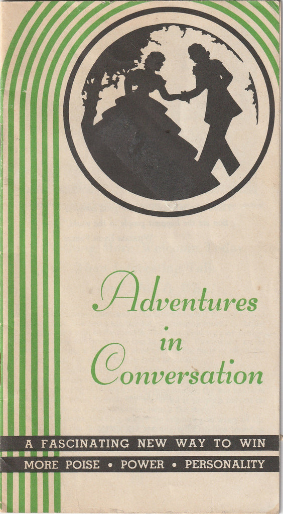 Adventures in Conversation - Conversation Studies, Chicago - Booklet, c. 1960