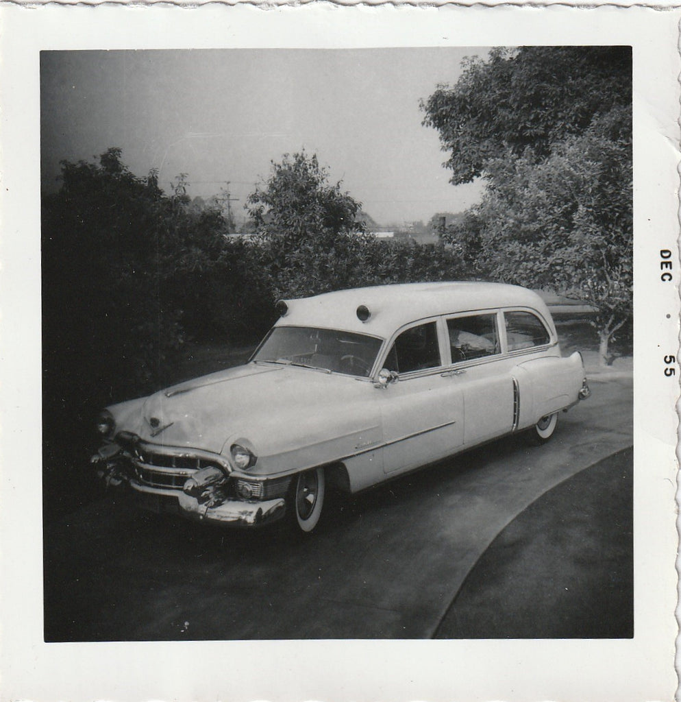 Cadillac Ambulance 1955 Photograph