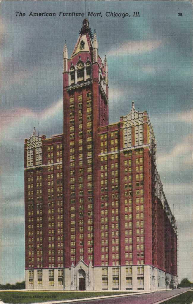 American Furniture Mart Chicago Postcard