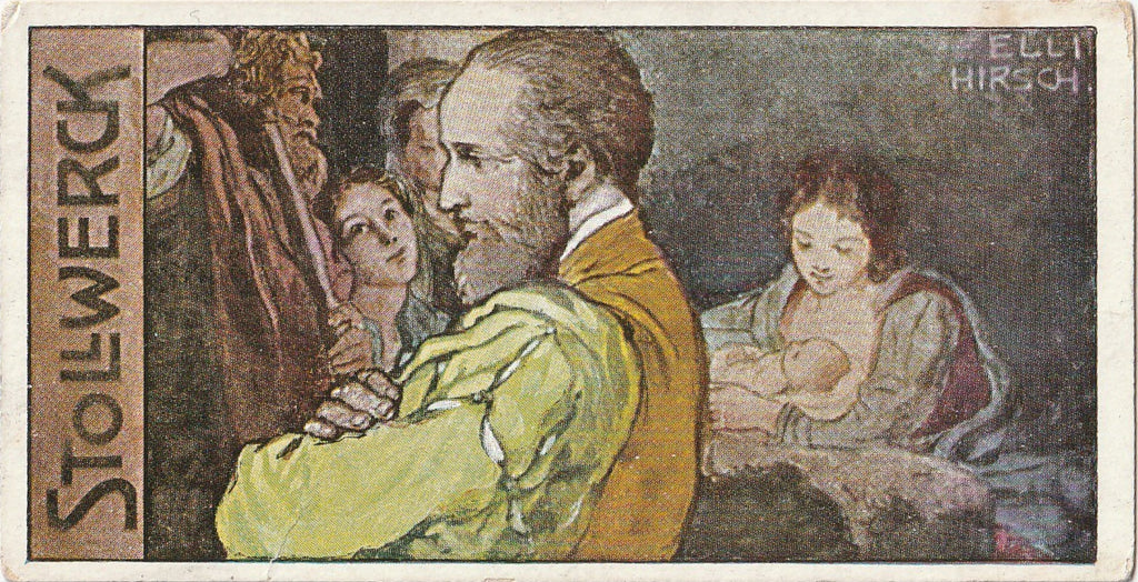 Antonio Allegri da Correggio - Stollwerck Chocolate - Trade Card, c. 1900s